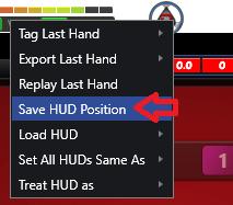 save hud