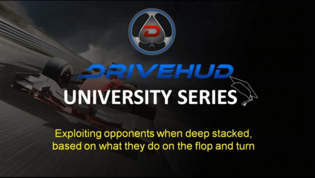 Exploiting opponents when deep stacked in poker