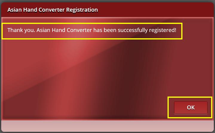 Hand Converter
